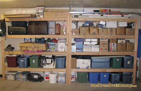 How To Organize A Garage | organize me 5 garage makeover onecreativemommy com
