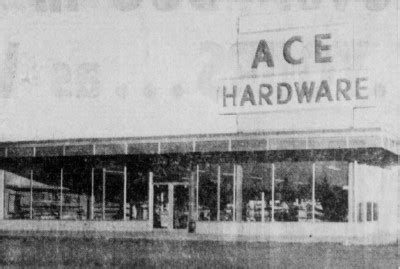 ace hardware history crow wing county historical society brainerd buildings
