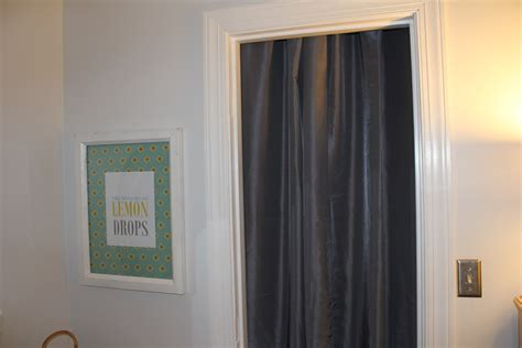 Curtains For Closet Doors Pictures by Peahen Pad Gray Curtains For Closet Doors