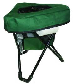Reliance tri to go folding camping chair portable toilet 9900 10