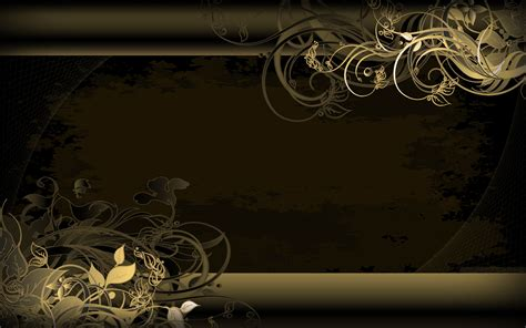 wallpaper laptop elegan elegant black and gold wallpaper 2 cool wallpaper
