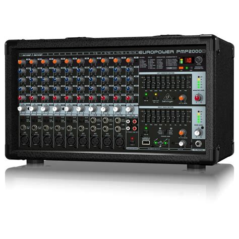 Power Mixer Behringer behringer pmp2000d powered mixer at gear4music