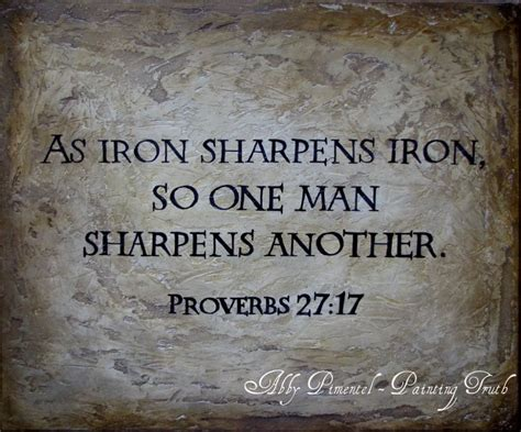 iron sharpens iron tattoo proverbs 27 17 www imgkid the image kid has it