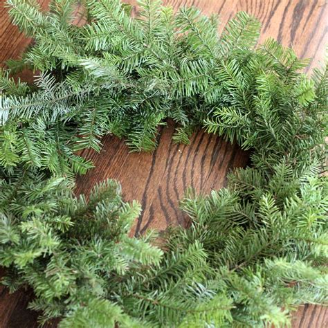 how to make a wreath using your leftover christmas tree