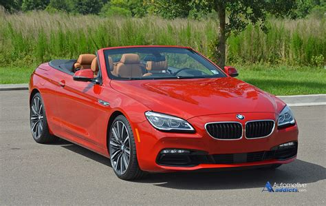 2016 bmw 650i convertible review test drive