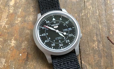 Seiko 5 Snkj27 the seiko 5 snk 809 50 mechanical wristwatch the