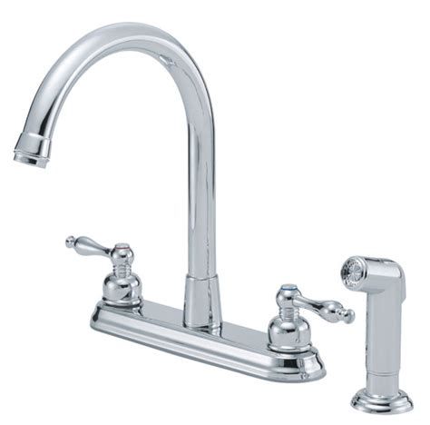 kitchen sink fixtures danze 174 two handle kitchen faucets