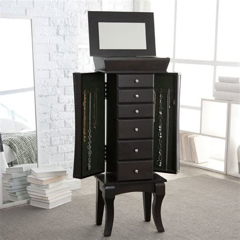 Jewelry Armoire Modern by Related Keywords Suggestions For Modern Jewelry Armoire