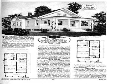 1900 Sears House Plans House Plans From The 1930s 1930s Sears House Plans Early 1900 House Plans Mexzhouse