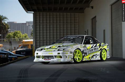 drift cars 240sx rob parson chairslayer his controlled s13 240sx