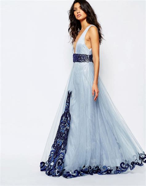 Luxe To Less Tulle Prom Dress by A Is Born A Is Born Luxe Plunge Front