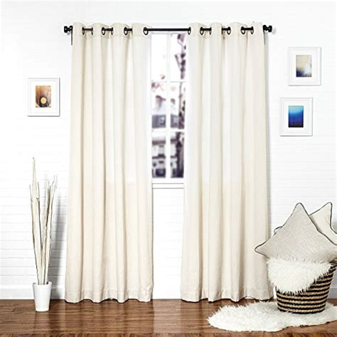 curtains 50 inches long homier white linen blend window curtain drape panel