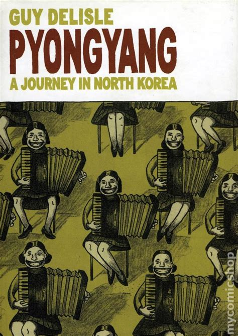 pyongyang a journey in north korea hc 2005 comic books