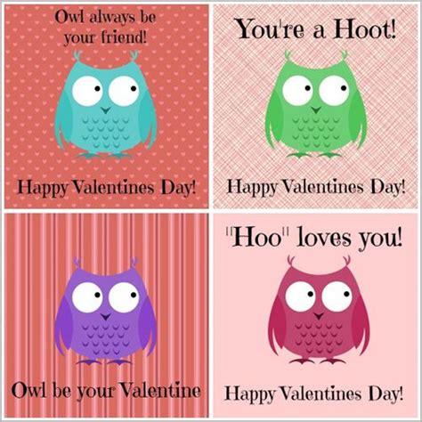 owl valentines day owl printables