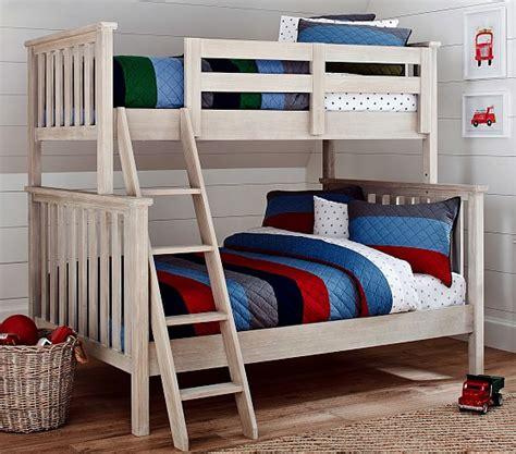 elliott twin  full bunk bed pottery barn kids