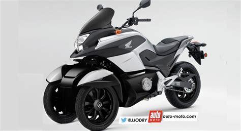 Dreirad Motorrad Honda by Scooter Honda 3 Roues Voici Le Nc 750 D3 Scoop Moto