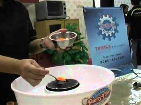 Mesin Sostel membuat gula kapas arum manis dengan mesin cotton doovi