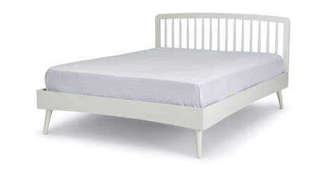 culla spindle white king bed beds article modern