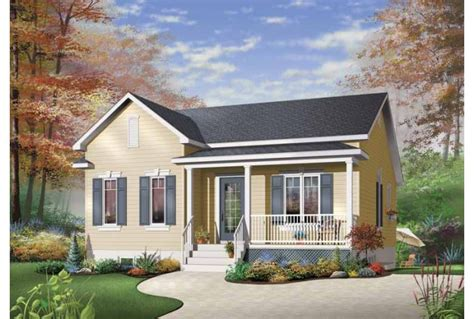 eplans country house plan simple one story bungalow 1026 square and 2 bedrooms from