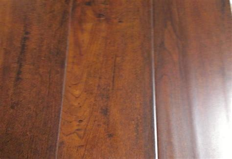 12mm distressed hand scraped cherry laminate floor flooring