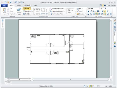 network floor plan layout network floor plan