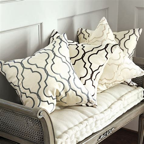 ballard design pillows firenze embroidered pillow ballard designs