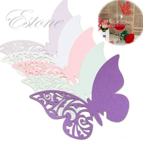 Butterfly Place Cards For Glasses Template by Wine Decorations Reviews Shopping Wine
