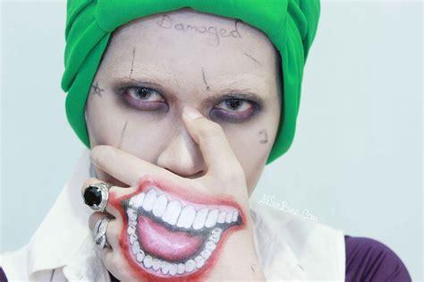 joker tattoo tutorial tutorial suicide squad joker makeup