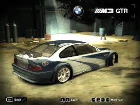 igcd net bmw m3 gtr in need for speed most wanted