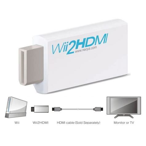 Wii To Hdmi 1080p Converter Adapter Murah how to make a wii hdmi adapter hdtv connection