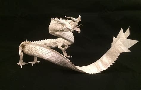 Ryujin Origami - get fired up for these origami dragons
