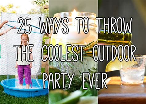 Never throw a boring party again with these 25 outdoor entertaining