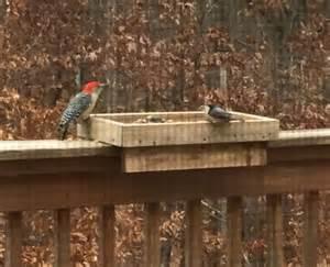 deck rail bird feeder 5 1 2 mount by mtnwoodworkingcrafts on etsy