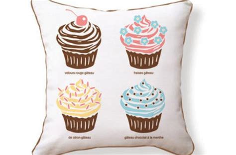 foodista the cupcake pillow will add sweetness to your