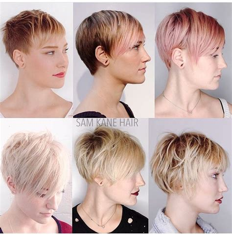 pictures of hair styles for hair growing out after chemo model hairstyles for hairstyles while growing out short