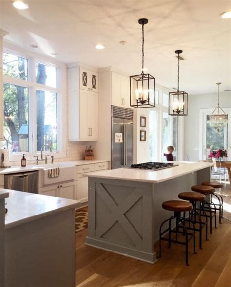 astounding country kitchen island bench on top of black farmhouse light fixtures elegant kitchen island lights