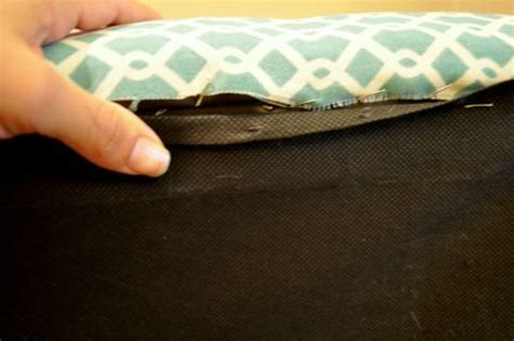 how to reupholster a storage ottoman reupholster a storage ottoman no place like home pinterest