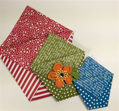 Origami Paper Pouch - paper stack idea 4 origami gift pouches