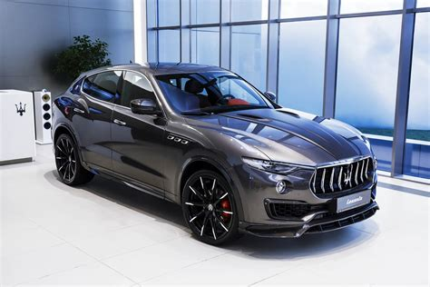 maserati levante blue maserati levante s gets upgrades from larte design