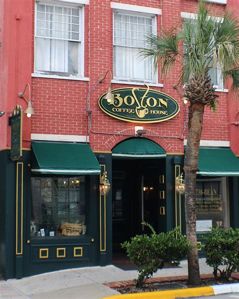 Boston Coffee House by Boston Coffee House In Deland Florida