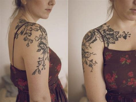 over the shoulder tattoo designs the shoulder tattoos ideas