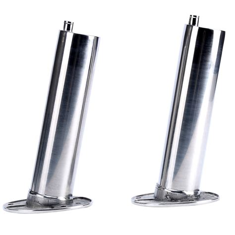 heavy duty boat rod holders 2x stainless 30 degree heavy duty boat rod holder with