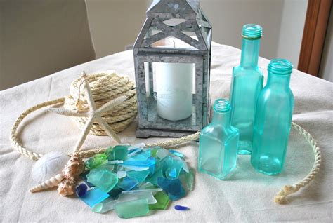Sea Glass Bottles Ideas Sea Glass Bottles A Gathering Place