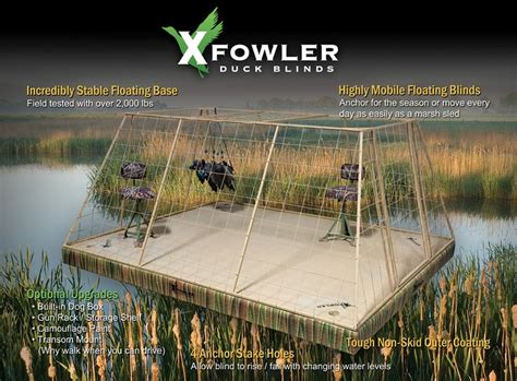 layout goose blind plans duck blinds california floating duck blinds california