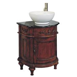 Lowes Vanity For Vessel Sink Shop Allen Roth Single Sink Bathroom Vanity With Top