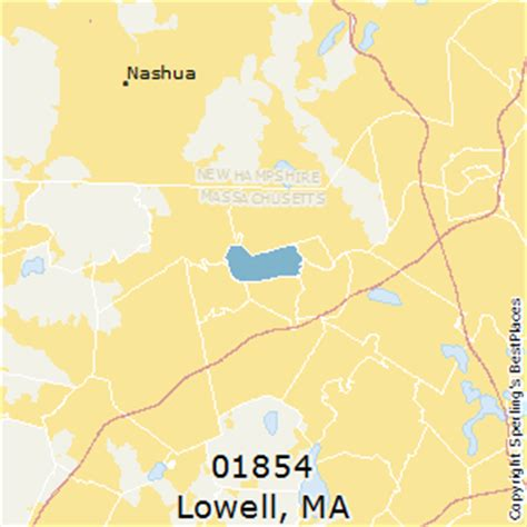 zip code map massachusetts best places to live in lowell zip 01854 massachusetts