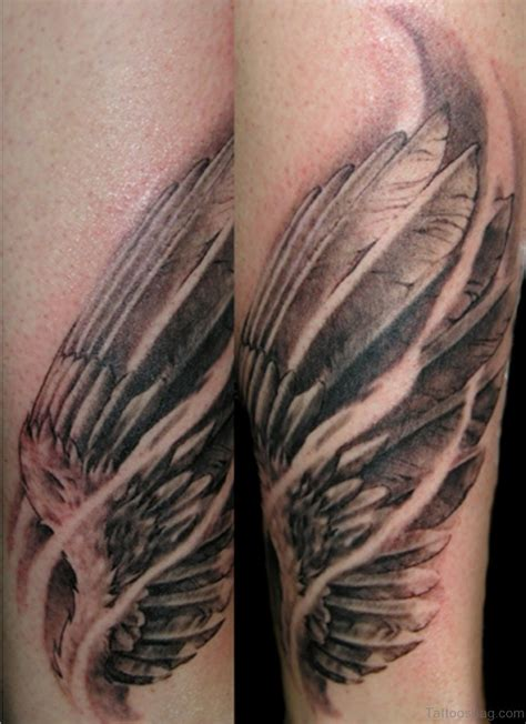 30 Awesome Wings Tattoos On Arm Wing Tattoos Images