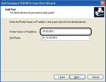 Ip Address And Port Lookup Canon Knowledge Base Setting And Changing Method Of Printer Driver Port