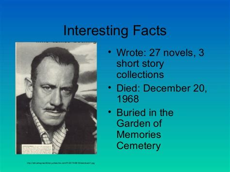 10 interesting john steinbeck facts my interesting facts john steinbeck