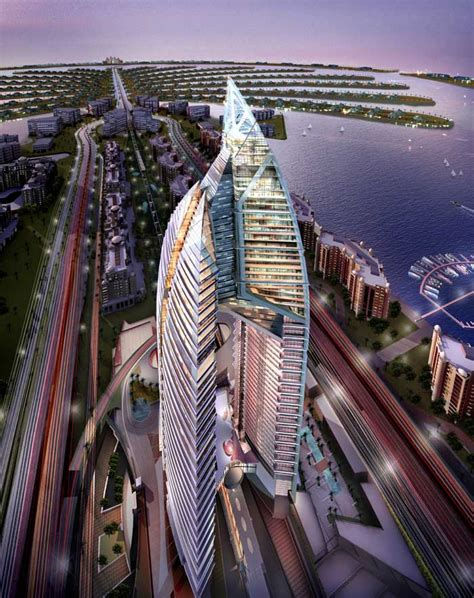 trump tower trump international hotel tower dubai e architect